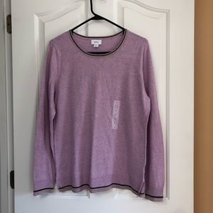 New with tags purple lilac sweater Old Navy size L